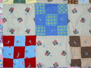 9 Patch Doll Quilt, 1940's -  QLT