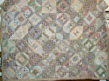 Tied Strip Quilt, 1880's -  QLT
