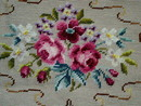 Floral Needlepoint