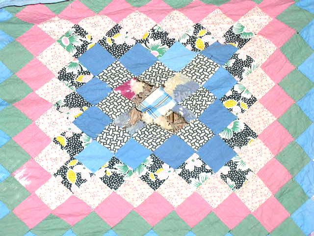 Many Trips Around the World Quilt Top -  QTP