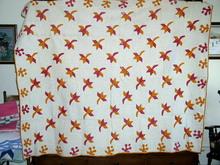 Flower Pattern Quilt -  QLT