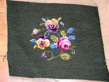 Needlepoint,  Floral