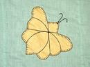 Appliqued Butterfly Quilt Top -  QTP