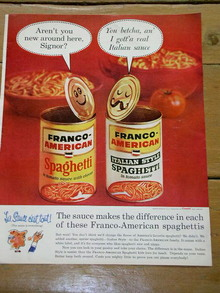Franco-American Advertisement