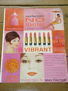 Max Factor Advertisement