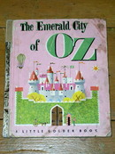 The Emerald City of OZ,  Little Golden Book, First printing
