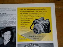Kodak Medalist Camera Advertisement