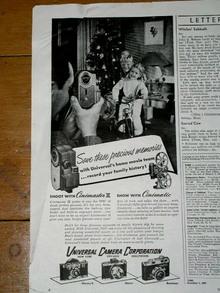Universal Camera  Corporation  Advertisement