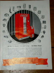 Coca Cola and Westinghouse  Advertisement