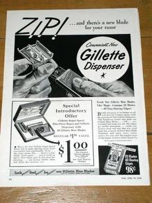 Gillette  Advertisement