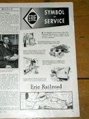 Erie Railroad  Advertisement