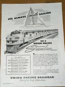 Union Pacific Railroad  Advertisement