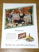 Schlitz Beer  Advertisment