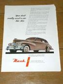 Nash Automobile  Advertisment