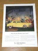 Studebaker  Advertisment
