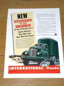 International Trucks Advertisement