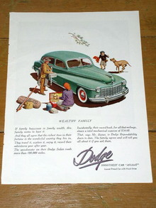 Dodge  Advertisement