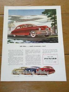 Packard Automobile  Advertisement