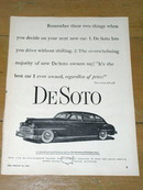 DeSoto Automobile  Advertisement