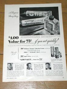 Aqua Velva  Advertisement