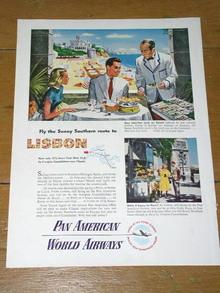 Pan American  Advertisement
