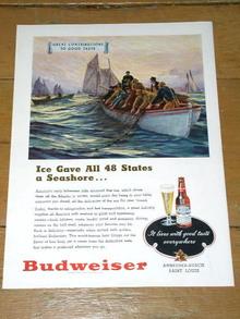 Budweiser  Advertisement