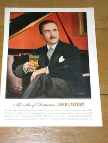 Lord Calvert Whiskey  Advertisement