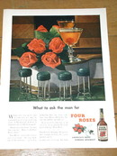 Four Roses Whiskey Advertisement