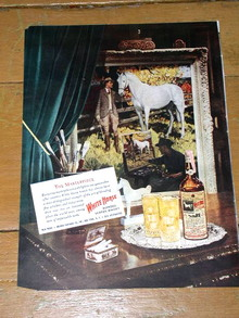 White Horse Whiskey Advertisement