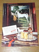 White Horse Whiskey Advertisement