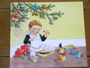 Nursery Rhyme Illustration, 1943, Little Jack Horner