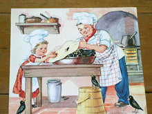 Nursery Rhyme Illustration, 1943, Sing A Song of Sixpence