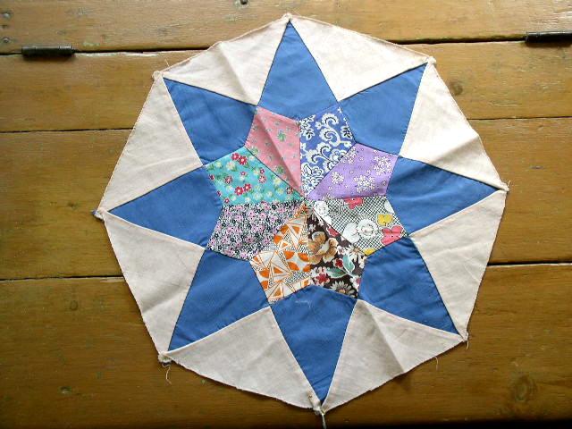 Octagonal Star Quilt Block -  QB