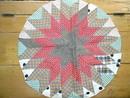 Round Star Quilt Block -  QB