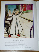 Wee Willie Winkie  Nursery Rhyme and Illustration