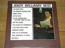 Andy Williams' Best LP Record