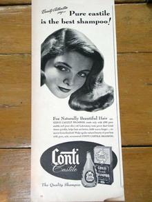 Conti Castile Shampoo Advertisement