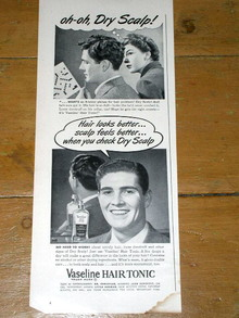 Vaseline Hair Tonic  Advertisement