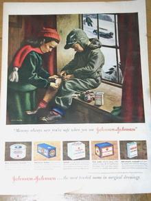 Johnson & Johnson Bandages  Advertisement