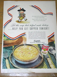 Campbells Soup  Advertisement