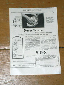 S 0 S Pads  Advertisement