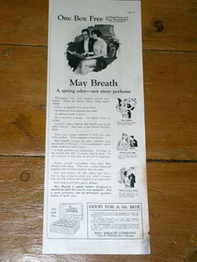 May Breath  Advertisement