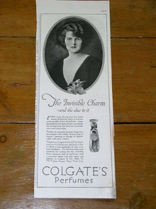 Colgate's Perfumes Advertisement