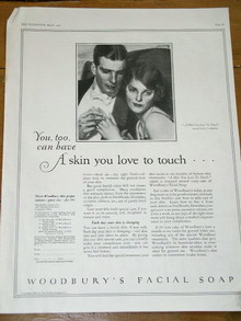 Woodbury's Facial Soap  Advertisement
