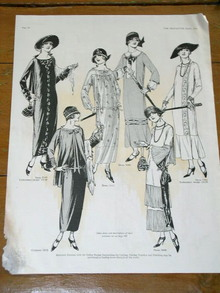 Fashion Patterns for Women Advertisement