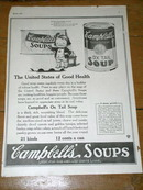 Campbell's Soup  Advertisement