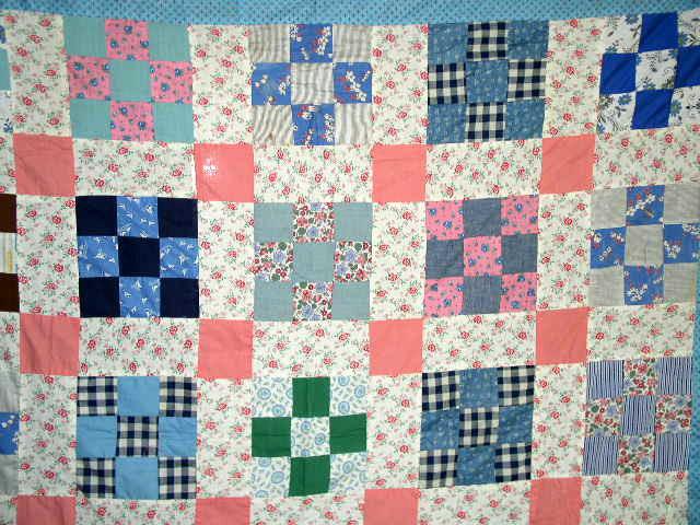 9 Patch Quilt Top -  QTP