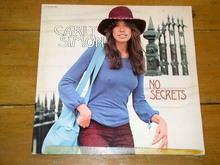 Carly Simon, No Scertes  L P Record Album