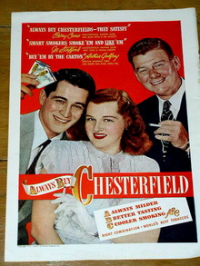 Chesterfield Advertisement
