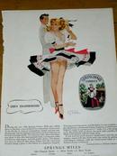 Springmaid Fabrics  Advertisement